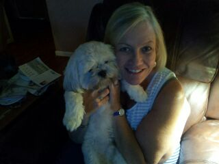 Mrs. Owens and Buster
