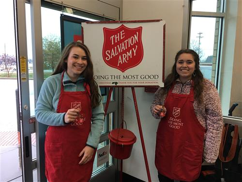 Salvation Army Bell-Ringing 2018