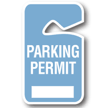 Parking Decal Form